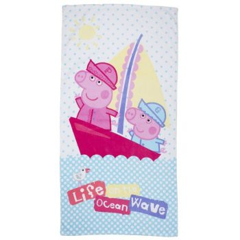 Peppa Pig Nautical Beach Towel