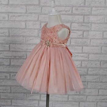 Party Dress – Pink Rosette