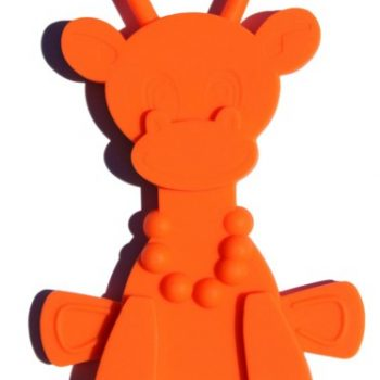 Little Bam Bam Teether – Orange