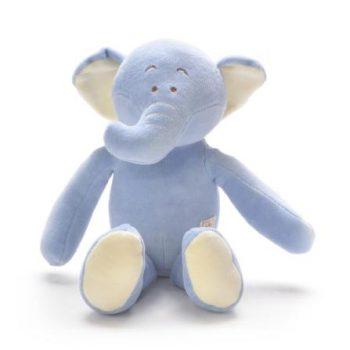 miYim Organic Eddie Elephant Storybook Plush Toy