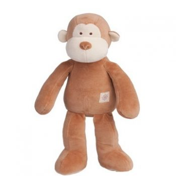 miYim Organic Fred Monkey Storybook Plush Toy