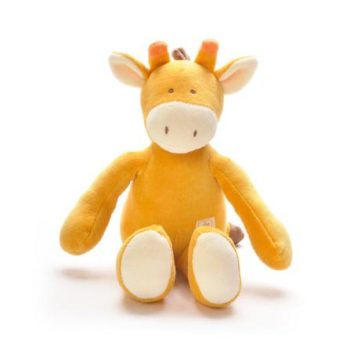 miYim Organic Sam Giraffe Storybook Plush Toy