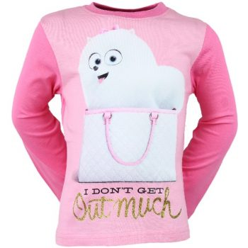 The Secret Life of Pets Long Sleeve Top – Pink