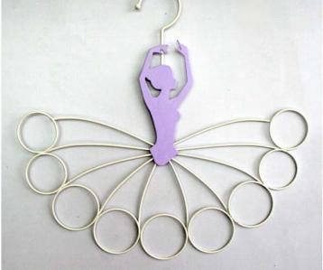 Wire Scarf Hanger Ballerina Design
