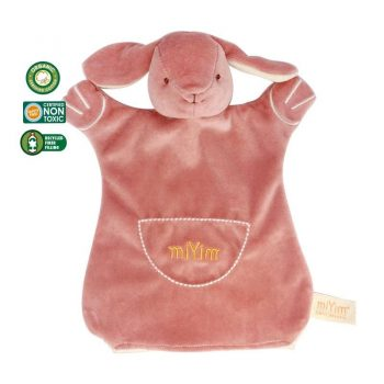 miYim Organic Puppet Blankie – Victoria Bunny