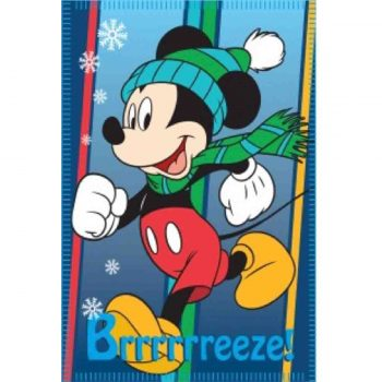 Mickey Mouse Polar Fleece Blanket – Breeze