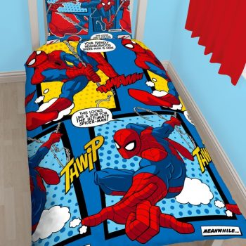Spiderman Quilt Cover Set – Single