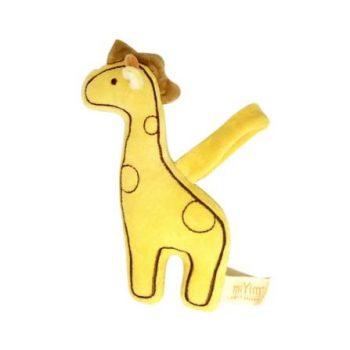 miYim Organic Stroller Toy – Giraffe