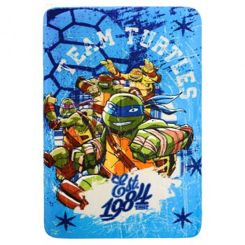 Teenage Muntant Ninja Turtles Blanket – Blue