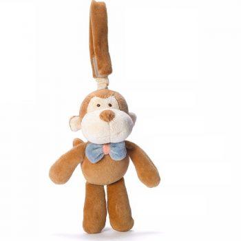 miYim Organic Stroller Toy – Fred Monkey