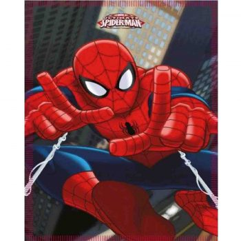 Spiderman Microfiber Polar Fleece Blanket