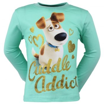 The Secret Life of Pets Long Sleeve Top – Aqua