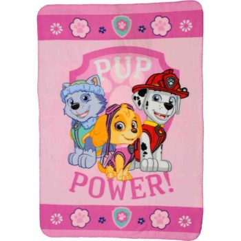 Paw Patrol Polar Fleece Blanket – Pup Power