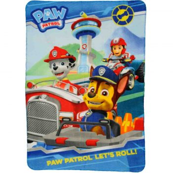 Paw Patrol Polar Fleece Blanket – Let's Roll