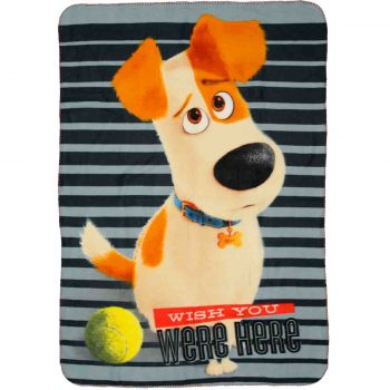 The Secret Life of Pets – Polar Fleece Blanket – Pamper Me