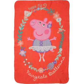 Peppa Pig Polar Fleece Blanket – Fairy Tale Ballerina
