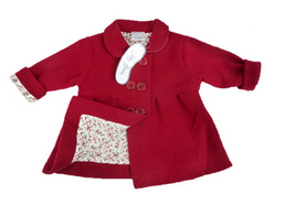 Toddler Winter Jacket – Cherry Red