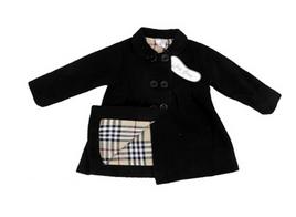 Toddler Winter Jacket – Black