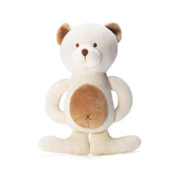miYim Organic Knitted Teether – Bear