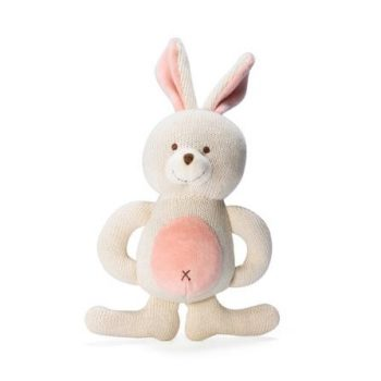 miYim Organic Knitted Teether – Bunny