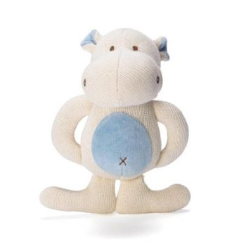 miYim Organic Knitted Teether – Hippo