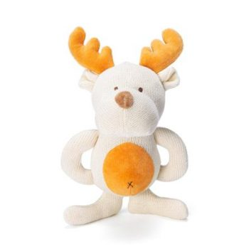 miYim Organic Knitted Teether – Moose