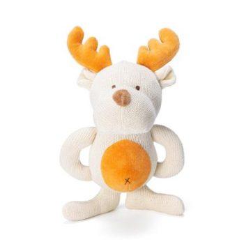 miYim Organic Knitted Teether – Moose
