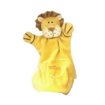 miYim Organic Puppet Blankie – Leo Lion