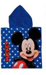Mickey Mouse Hooded Towel – Blue