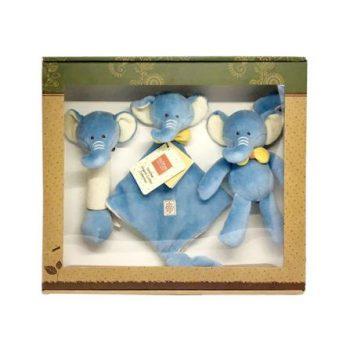 miYim Organic Plush Gift Set – Eddie Elephant