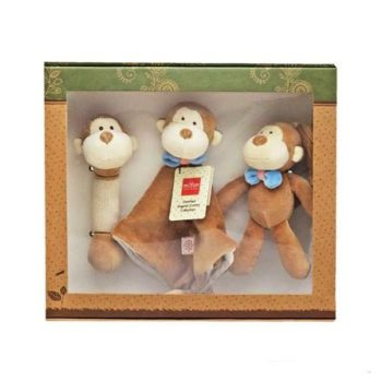 miYim Organic Plush Gift Set – Fred Monkey