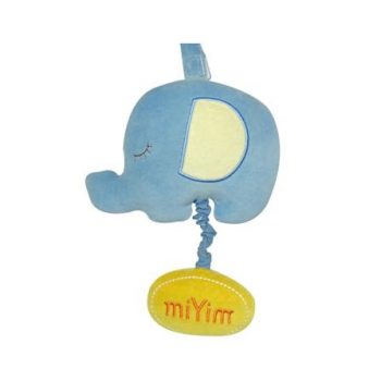 miYim Organic Musical Toy – Elephant