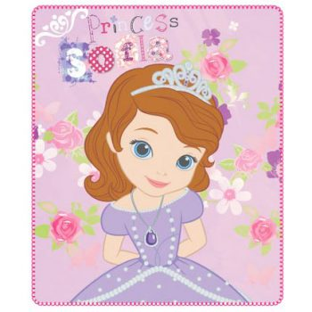 Sofia the First Polar Fleece Blanket