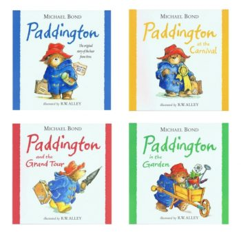 Paddington Bear set of 4 Books
