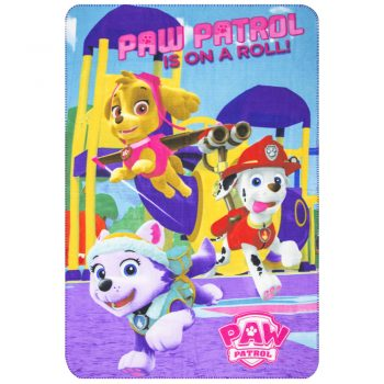 Paw Patrol Polar Fleece Blanket – On a Roll
