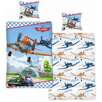 Planes Quilt Cover Set – Single