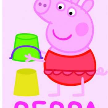 Peppa Pig Velour Towel