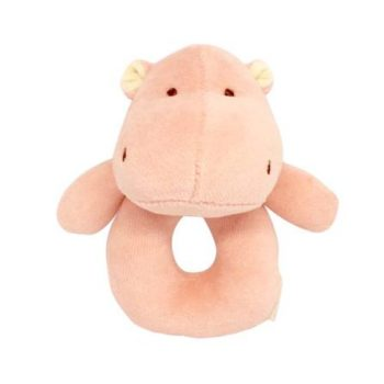 miYim Organic Plush Rattle – Alex Hippo