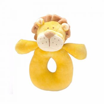 miYim Organic Plush Rattle – Leo Lion