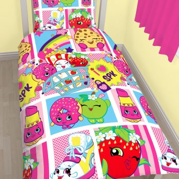 Shopkins Quilt Cover Set – Single