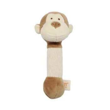 miYim Organic Plush Stick Rattle – Fred Monkey