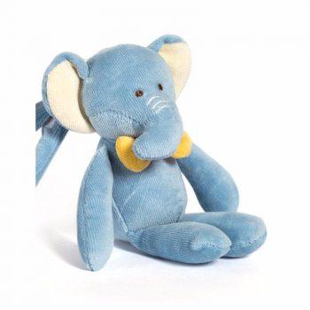 miYim Organic Stroller Toy – Eddie Elephant