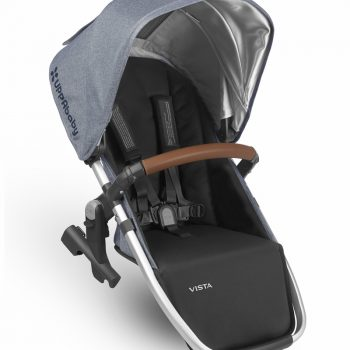 UPPAbaby VISTA 2018 Rumble Seat – Blue Melange/Silver (Gregory)