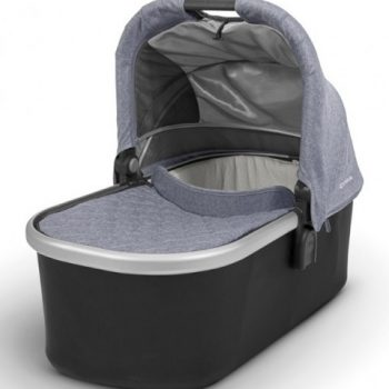 UPPAbaby CRUZ Bassinet 2017 – Blue Melange (Gregory)