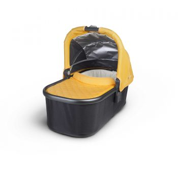 UPPAbaby VISTA / ALTA Bassinet – Yellow/Graphite (Maya)