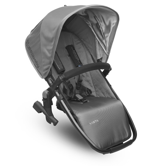 Uppababy Vista 2017 Rumble Seat Grey Graphite Pascal