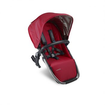UPPAbaby VISTA 2015 Rumble Seat – Red/Silver (Denny)