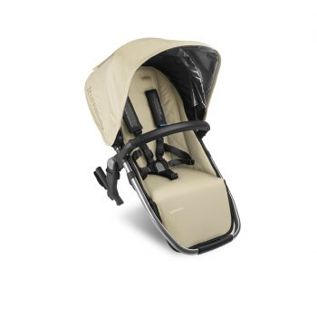 UPPAbaby VISTA 2015 Rumble Seat – Wheat/Silver (Lindsay)