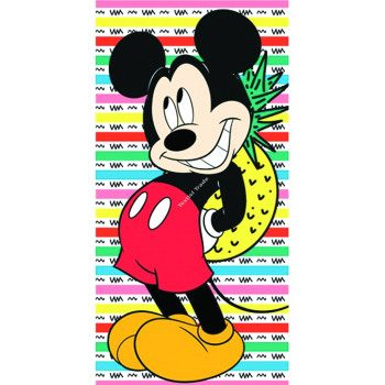 Mickey Mouse Beach Towel – Pineapple
