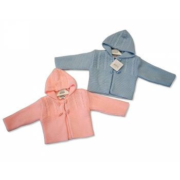 Knitted Baby Pram Coats